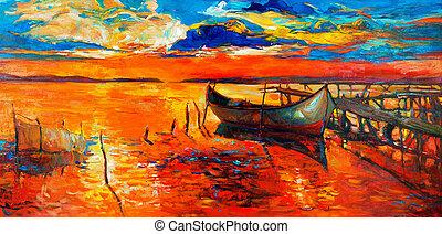 Barcos, Cais