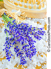 lavender with sea salt