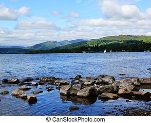 Lake Windermere. - An image of Lake Windermere in the...