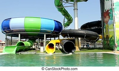 aqua park - aqua summer fun and joy