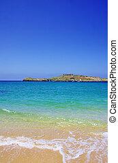 Pessegueiro island beach,Porto Covo, Portugal