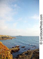 Rocks and sea near Porto Covo village