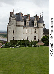 Amboise castle Valley of the river Loire France