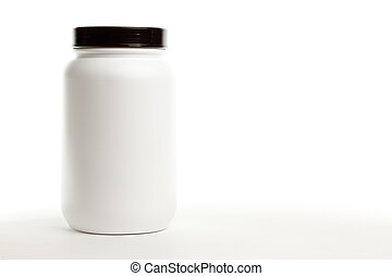 White Canister - Blank