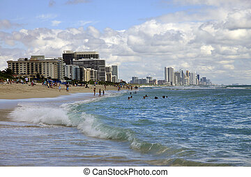Miami beach - MIAMI - MAY 5: View of the South Beach...