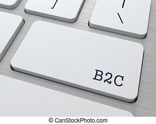 B2C - Business Concept.