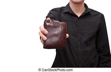 wallet in hand Murska