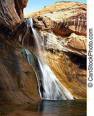 Lower Calf Creek Falls Utah, USA