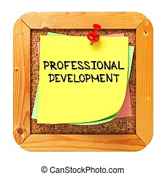 Professional Development Sticker on Bulletin - Professional...