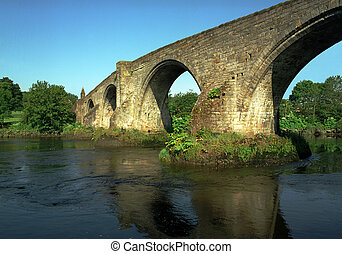 Old stone bridge in Scotland