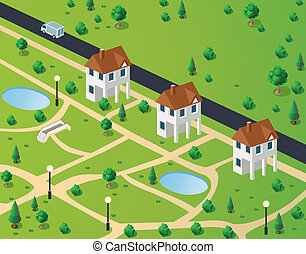 town houses