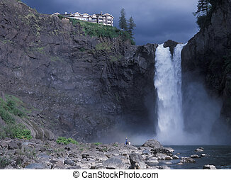 Snoqualmie Falls - USA Washington State, Snoqualmie Falls,...