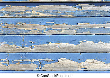 old wood painted background - Background made from weathered...