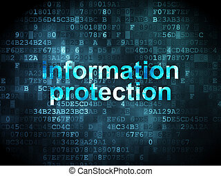 Privacy concept: Information Protection on digital...