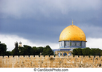Dome of the Rock - Dome of the Rock fromk Israel