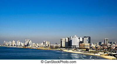 Tel Aviv city from Israel
