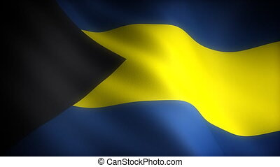 Flag of Bahamas seamless