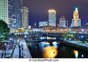 Downtown Providence Rhode Island - Downtown Providence,...
