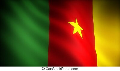 Flag of Cameroon (seamless)