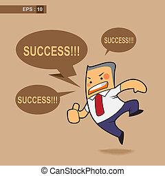 success in balloons speech