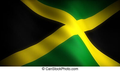 Flag of Jamaica seamless