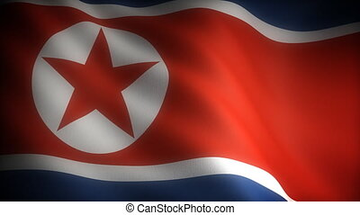 Flag of North Korea (seamless)