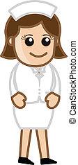 Lady Nurse - Doctor & Medical
