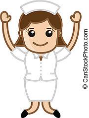 Happy Nurse - Doctor & Medical