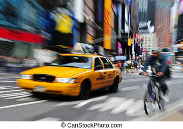 Time Square in Manhattan New York - NEW YORK - OCT 15: New...