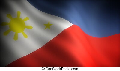 Flag of Philippines seamless