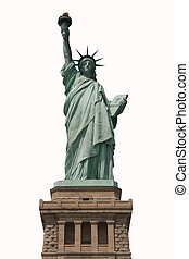 Statue of Liberty - Isolated Statue of Liberty National...