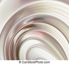 Striped Contours Abstract - Striped contour layers - fractal...