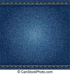 Jeans - Denim background. Vector eps10 illustration.