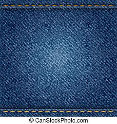 Jeans - Denim background. Vector eps10 illustration.