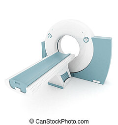 MRI image of the device on a white background