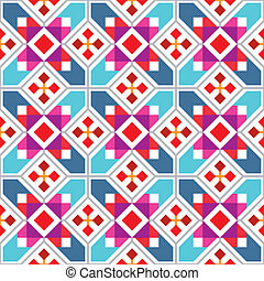 Geometric seamless pattern - Geometric seamless wallpaper...