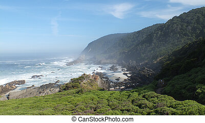 Storms River Waterfall Trail - The trail runs along the...