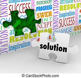 Solution Puzzle Piece Wall Problem Challenge Solved - A...