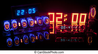 nixie - a collection of led clocks and timers