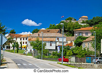 Town of Benkovac in Dalmatian inlands, Croatia
