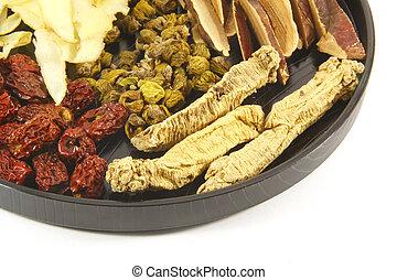 Chinese Herbal Soup Ingre