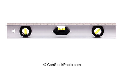 spirit builders level isolated on white background