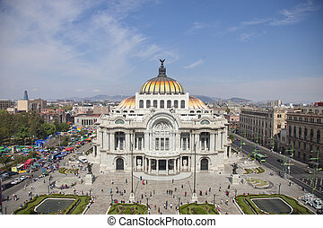 bellas artes, mexico DF - the impressive bellas artes...