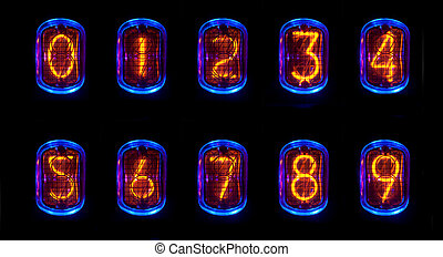 nixie - a numerical counter and number sequence using an old...