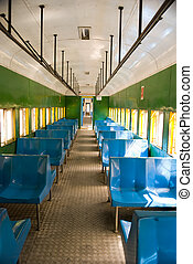 Inside of Brazilian Train - Inside of a Brazilian Train