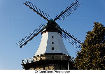 Windmill - A windmill in Kappeln