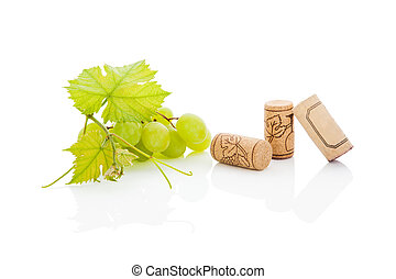 Luxurious wine background - Luxurious wine still life White...