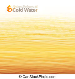 water background - vector water background with drop icon