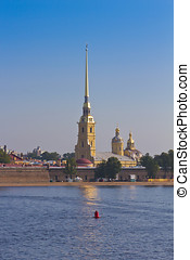 The Peter and Paul Fortress, St. Petersburg, Russia - Peter...