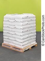 Pallet of sacks